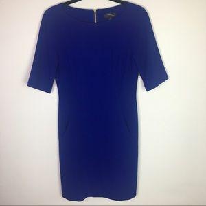 Tahari ASL Royal Blue Sheath Career Dress